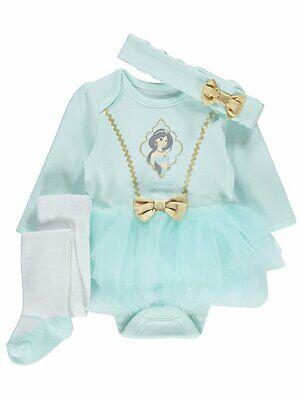 Baby Disney Prinzessin Jasmin Aladdin 3 Teile Party - Prinzessin Jasmin Baby Kostüm