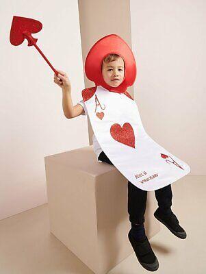 George Alice Im Wunderland Ace von Herzen Kostüm - Wunderland Outfit