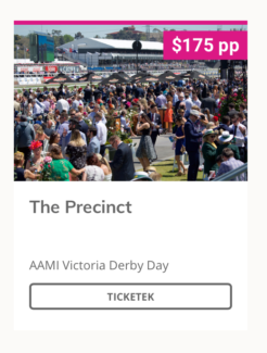 WANTED: 1x derby day precinct ticket