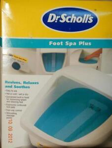 Dr. SCHOLL'S *** FOOT SPA PLUS *** with ORINGIAL BOX