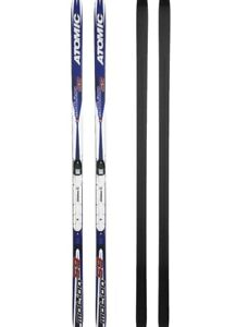 Atomic Motion 59  Classic Cross-Country Touring Skis with poles