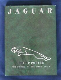 Jaguar book - Philip Porter. Hardback, very good condition.