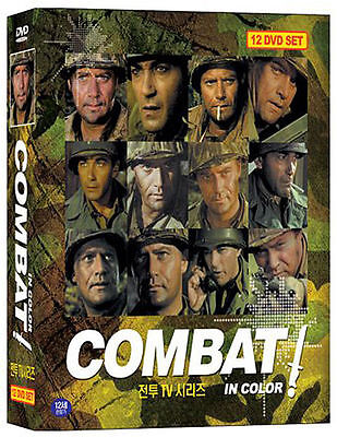 COMBAT (1966) -  Complete TV Series 12-Disc BOX SET DVD *NEW