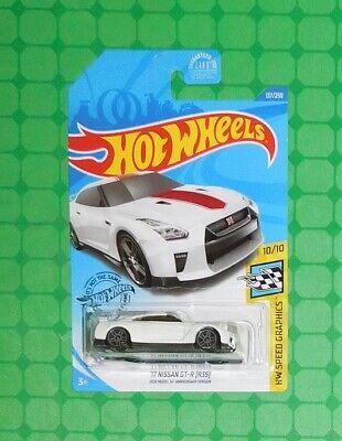 2020 Hot Wheels Speed Graphics #137 - '17 Nissan GT-R (R35)
