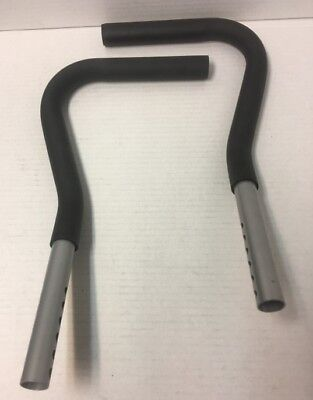 Used, AB CIRCLE PRO REPLACEMENT Handle Bars Right & Left  Grips for sale  Columbus