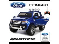 Licensed 2 Seater Offical Ford Ranger Ride On Car, remote Control, Self Drive Music