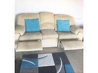 3 Seater Reclining Sofa & Reclining Chair. Cholè by G Plan