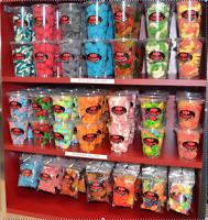 Confiserie - Bar à bonbons - Emballages