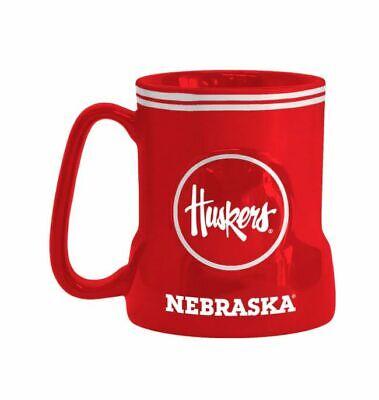 - NCAA Nebraska Cornhuskers Coffee Mug 18oz Game Time Boelter Brands
