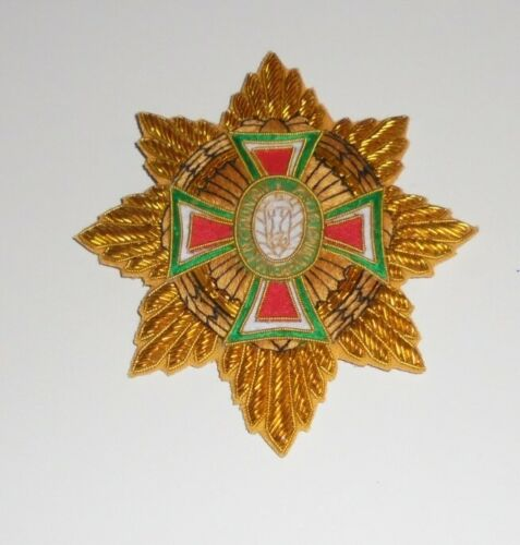Royal Imperial Empire Order Mexico Guadalupe Medal Cross Star Officer Award King