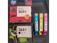 HP 364 xl printer ink bundle - NEW