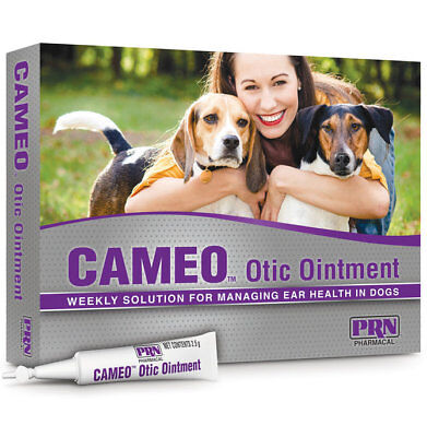 Cameo Otic Ear Health Applicator For Dogs   8 2 5Gm Applicators By Prn