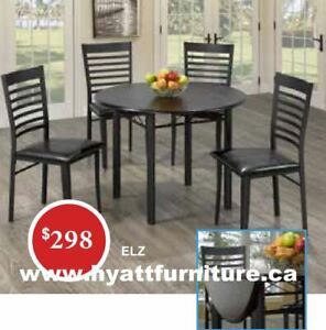 Brand new 5pcs Wooden Round Dinette  $298 - We deliver in GTA