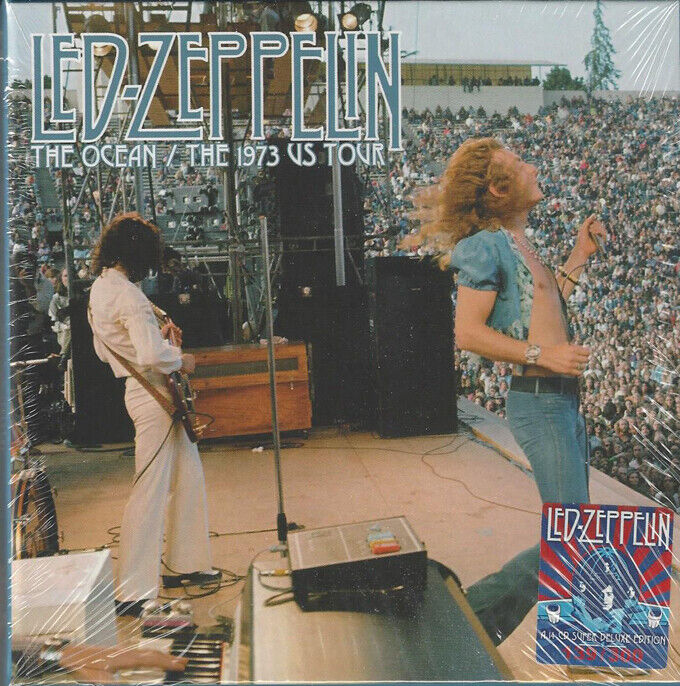 LED ZEPPELIN THE OCEAN THE US TOUR 1973  - $175.38