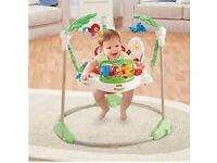 Fisher Price Rainforest Jumperoo in very good condition