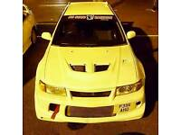 Evo 4 with evo 6 conversion lancer evolution iv v vi