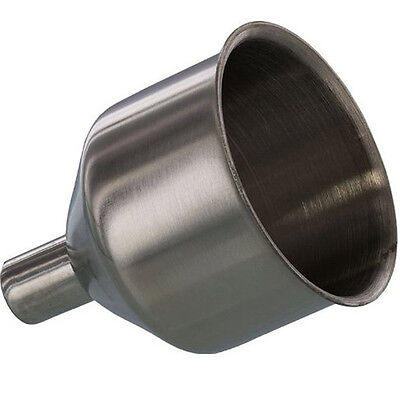 Stainless Steel Large Capacity Flask Funnel FITS MOST FLASKS Groomsman's Gift