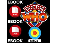 COMPLETE Doctor Who televised TARGET PDFs