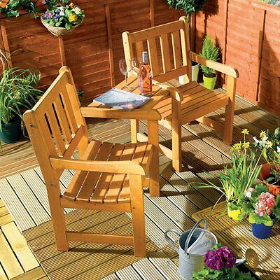 Companion Garden Bench - Corner Love Seat -Jack and Jill - Tete a Tete Set for sale  London
