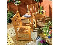 Jack & Jill garden bench for sale  Tyne and Wear