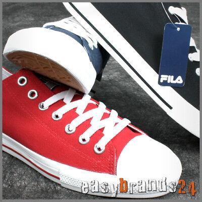 Fila Herrenschuhe Damenschuhe Schuhe Sneaker schwarz rot blau Textil Canvas ()