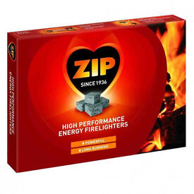 Joblot wholesale Clearance Stock 10x Boxes of 24 packs of 12 ZIP Firelighters