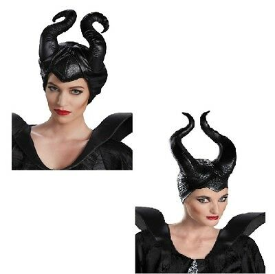 Maleficent Horns (Choose your Style) Disney Accessory Halloween Black Horns - Halloween Black Horns