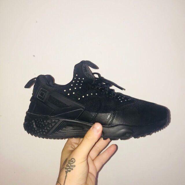 Nike Air Max 95 Triple Black Men's Shoes Size 10.5 Depop
