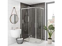 *NEW* MODE Rand 8mm Offset Quadrant Shower Enclosure (800 x 1200)
