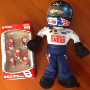 DALE JR.  PIT CREW or FIGURE $10,2/$15; also JACKET, BOOKS, MAGS