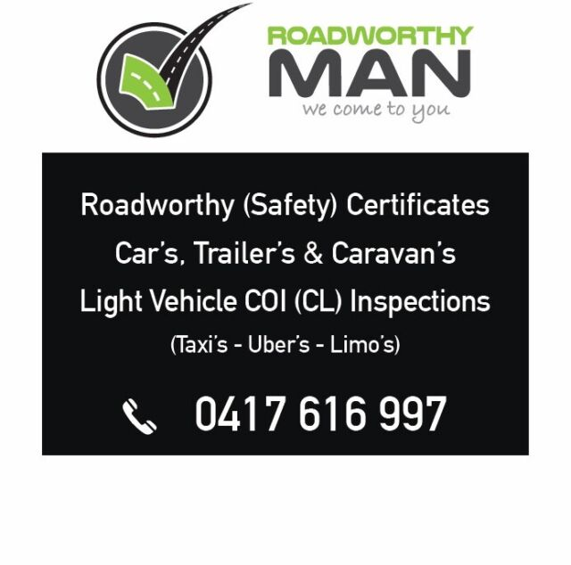 Mobile Roadworthy Certificates From $49