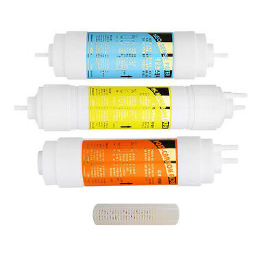 4pcs Water Purifier Replacement Filter Set Compatible for Coway P-07QL