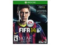 FIFA 14 XBOX ONE GAME FOR SALE