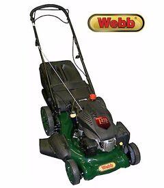"""Webb Self-Propelled 140cc 20"""" Petrol 4-in-1 Mulching Lawn Mower AS-NEW + WARRANTY!"""