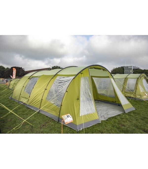 Vango Iris 500 With Enclosed Canopy Awning