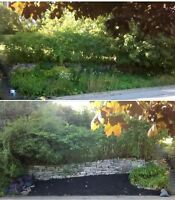 K & Day Landscapers $85.00 for 5 hours
