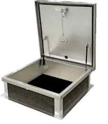 Acudor Galvanized Steel Roof Hatch - 24 X 24