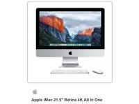 "Brand new Apple iMac 21.5"" Retina 4K All In One"