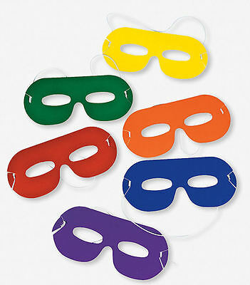 12 Superhero MASKS Boy's Birthday Party Costume Favors TOYS