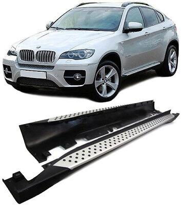Trittbretter passend f/ür BMW X1 F48 ab Baujahr 2015 Model Hitit Chrom mit T/ÜV und ABE