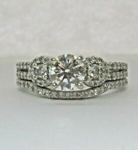APPRAISED AT $7000 VS1 DIAMOND RING SET 1.25 ctw