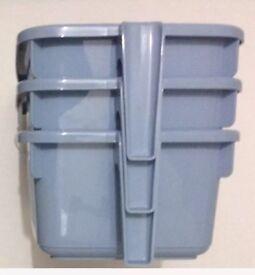 Clearance _ Plastic caddy storage basket @£1.50 each
