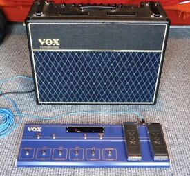 VOX Valvetronix AD-120vt Digital Valve Modelling Guitar Amp with VC-12 Foot Controller