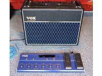 VOX Valvetronix AD-120vt Digital Valve Modelling Guitar Amp with VC-12 Foot Controller