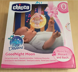 Chicco goodnight moon baby musical cot/portable mobile
