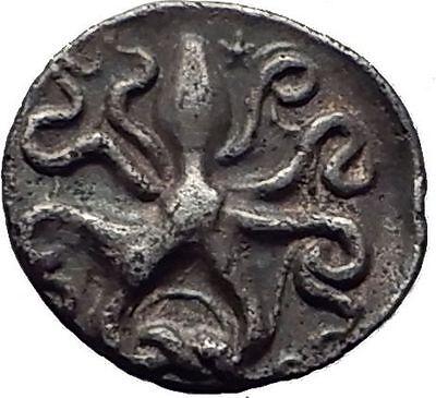 Syracuse Sicily 405Bc Dionysios I Rare R2 Silver Greek Coin Nymph Octopus I63455