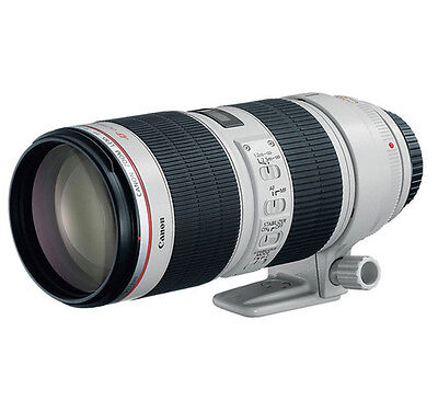 Canon EF 70-200mm f/2.8L IS II USM Telephoto Lens For Canon SLR EOS Open Express
