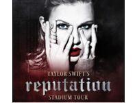 4 x Taylor Swift Tickets Fri 22 June London