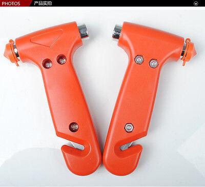 Hot Auto Emergency Life Saving Hammer Tool Car Window Seat Safety Belt Cutter