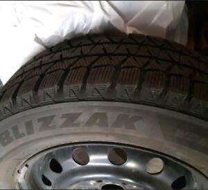 Bridgestone Winter Tires / Rims Subaru Crosstrek